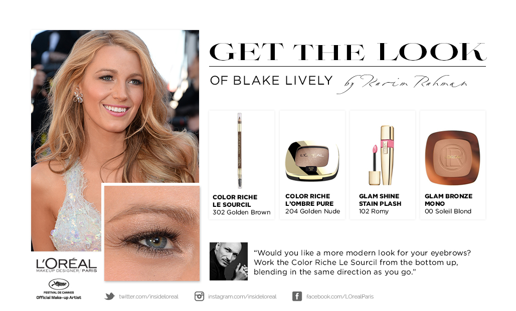 GET THE LOOK - BLAKE LIVELY - CANNES FESTIVAL 15.05.14_1